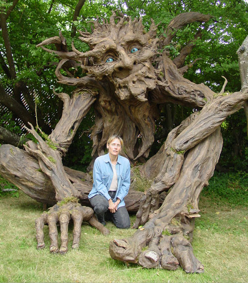 Giant troll made by Kim Graham