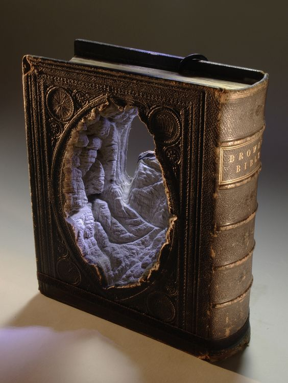 Carving Book Art
