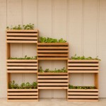 How to make a Modern, Space-Saving Vertical Vegetable Garden.