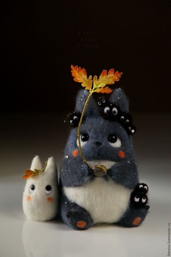 Amazing Filigree Needle Felted Dolls